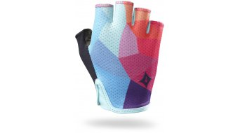Specialized BG Grail gloves short ladies road bike- gloves turquoise/geo fade 2017