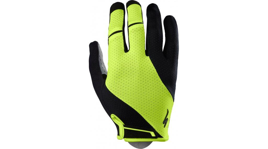 Specialized BG Gel Handschuhe lang Herren Gr. S black/neon yellow