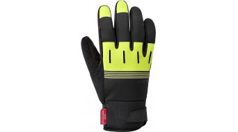 Shimano Thermal Reflective Windstopper guantes largo(-a) color neón amarillo