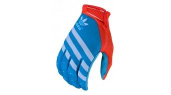 Troy Lee Designs Air Adidas Team 手套 长 男士 型号 ocean/flo 橙色