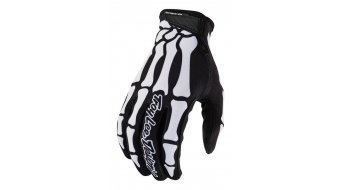 Troy Lee Designs AIR Skully Limited Edition gloves men long black/white