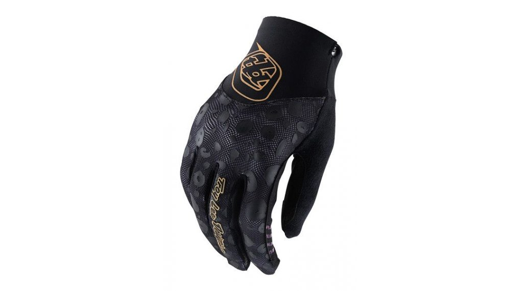 Troy Lee Designs Ace 2.0 Cheetah 手套 长 女士 型号 XL black