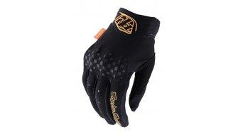 Troy Lee Designs Gambit guantes largo(-a) Señoras negro/negro