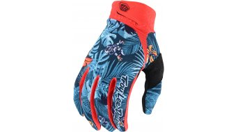 Troy Lee Designs Air Cosmic Jungle Handschuhe lang Herren orange/navy