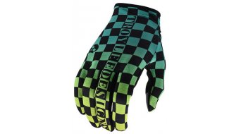 Troy Lee Designs Flowline Checkers guanti dita-lunghe da uomo