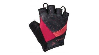 VAUDE Advanced II gloves short ladies size 6 crimson red