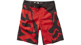 FOX Motion Fractured broek korte kinderbroek Youth Boardshorts maat 30 flame red