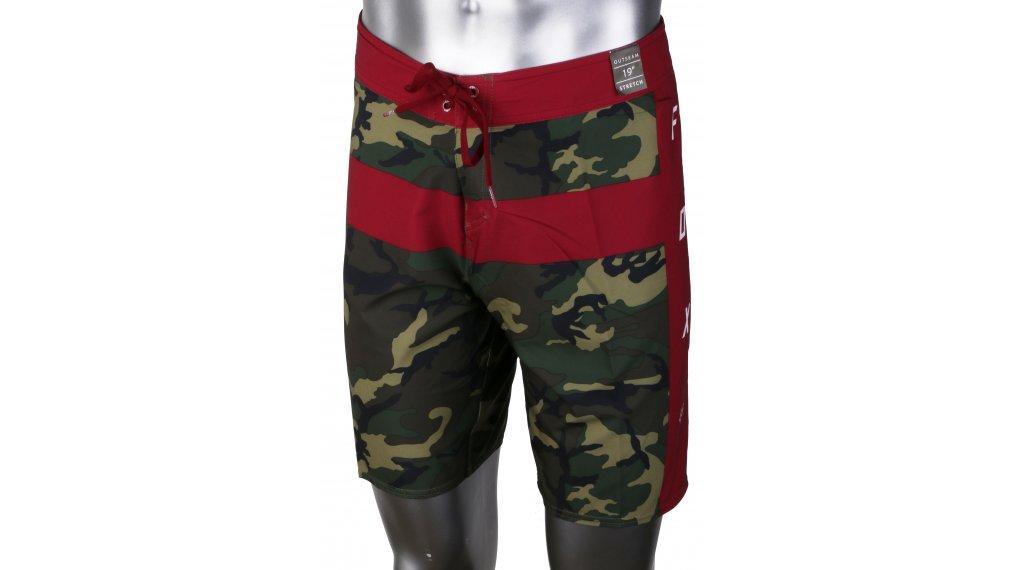 FOX Camouflage Moth Boardshorts Pantaloni corti da uomo mis. 31 verde camo