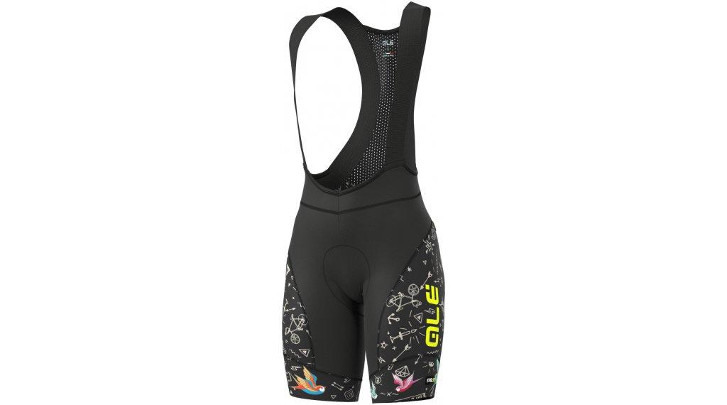 Alé Versilia Winter Graphics PRR Bib Shorts Hose kurz Damen (4WHF-Sitzpolster) Gr. S black