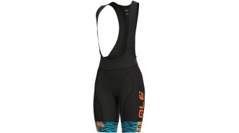 Alè Savana Graphics PRR Bib Shorts 裤装 短 女士 型号 turquoise/fluo 橙色