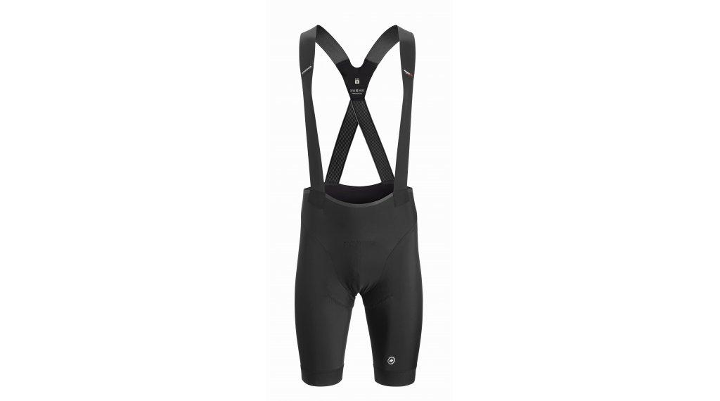 Assos Équipe RS S9 背带紧身裤 短 男士 (équipe RS-臀部垫层) 型号 L blackSeries
