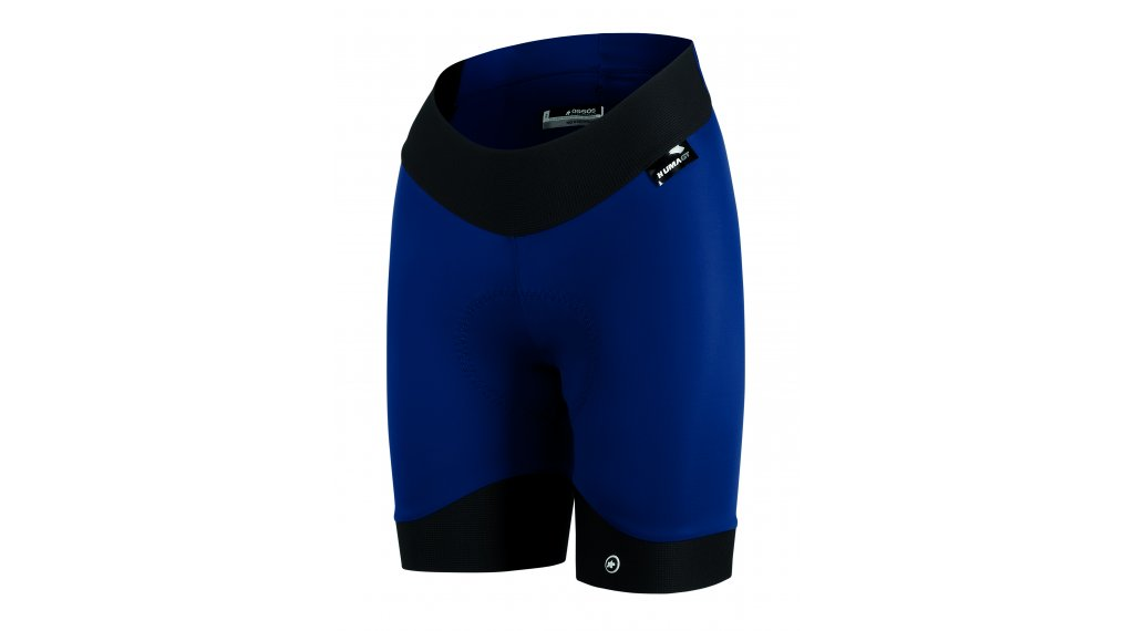 Assos Uma GT S7 Half shorts pant short ladies (uma GT- seat pads) size S caleumBlue