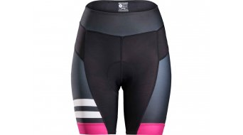 Bontrager Anara Limited 裤装 短 女士-裤装 Shorts 型号 L (US) black/vice 粉色 (sublimated)