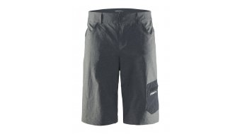 Craft Reel XT shorts VTT-pantalon hommes court taille dk grey melange