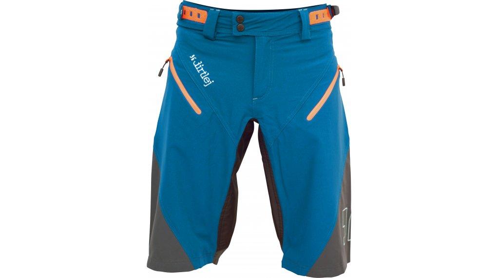 Dirtlej Trailscout Half & Half Shorts Hose kurz Herren Gr. S blue/grey/orange