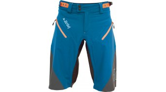 Dirtlej Trailscout Half & Half Shorts Hose kurz Herren blue/grey/orange