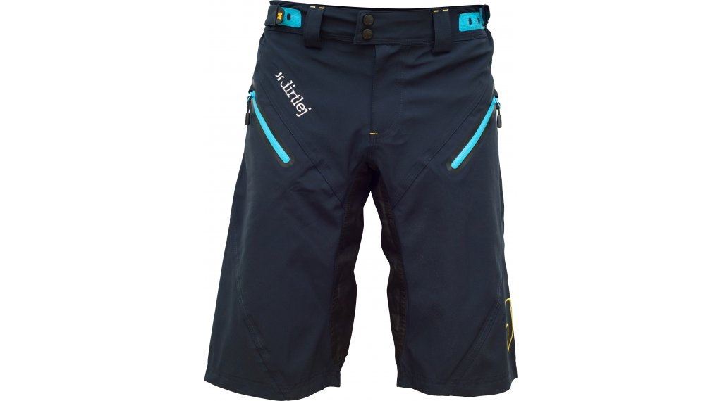 Dirtlej Trailscout Waterproof Shorts Hose kurz Herren Gr. M dark blue/blue