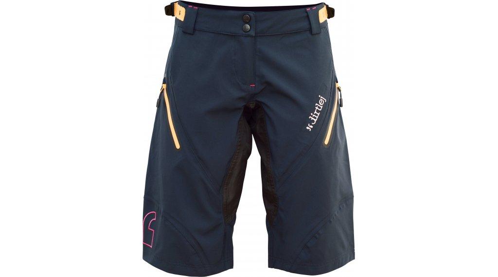 Dirtlej Trailscout Waterproof Shorts Hose kurz Damen Gr. XS dark blue/yellow