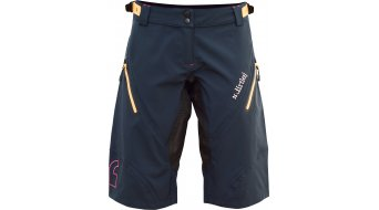 Dirtlej Trailscout Waterproof shorts pant short ladies dark blue/yellow