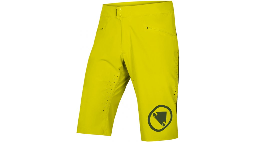 Endura SingleTrack Lite 裤装 短 男士 标准-Fit 型号 L forest green