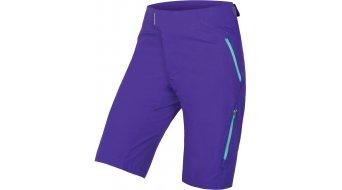 Endura singleTrack Lite II MTB broek kort dames (zonder zeem) kobalt blauw(e)