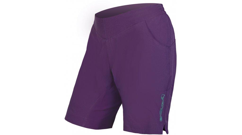 Endura Trekkit Shorts pantalón corto(-a) Señoras (300-Series-acolchado) tamaño XS purple
