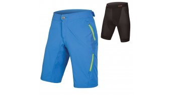 Endura Singletrack Lite II MTB-Shorts Hose kurz Herren (500-Series-Sitzpolster) ozeanblau
