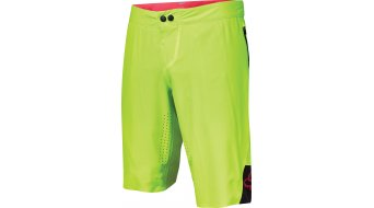 FOX Attack pant short men- pant shorts (Comp- seat pads) flo yellow
