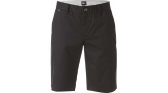FOX Essex Pinstripe broek kort(e) herenbroek shorts maat 36 black