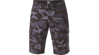 Fox Slambozo Camo Hose kurz Herren-Hose Tech Shorts charcoal/heather