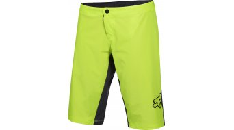 Fox Lynx Hose kurz Damen-Hose Shorts (Women Pro-Sitzpolster) Gr. M flo yellow