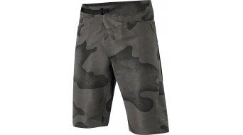 FOX Ranger Cargo Camo MTB-nadrág nadrág rövid férfi (EVO-ülepbetét) black camo