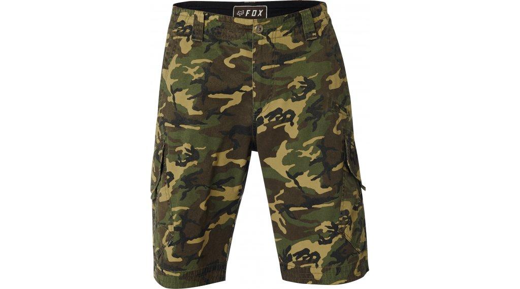 Korte Broek Camouflage Heren.Fox Slambozo Camo Cargo Shorts Broek Kort Heren Camo