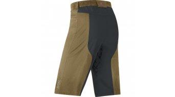 GORE Bike Wear Alp-X Hose kurz Herren-Hose MTB Shorts+ (Contest Pro Men-Sitzpolster) Gr. S olive