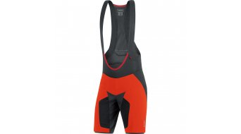 GORE Bike Wear Alp-X Pro 2in1 pant short men (Alp-X Pro Men- seat pads) size XL orange.com