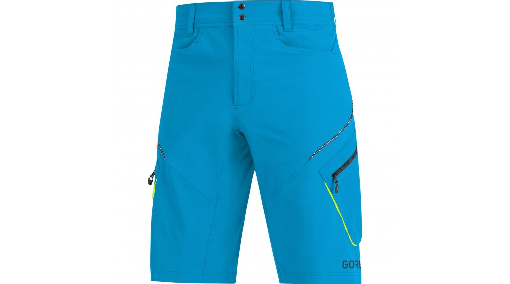 Gore C3 Trail shorts broek kort heren maat S dynamic cyan