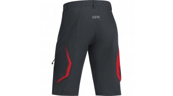 Gore C3 Trail shorts broek kort heren maat S black/red