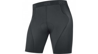 Gore C5 Tight inferiore zieh- shorts Pantaloni corti da uomo (Advanced MTB-fondello) . black