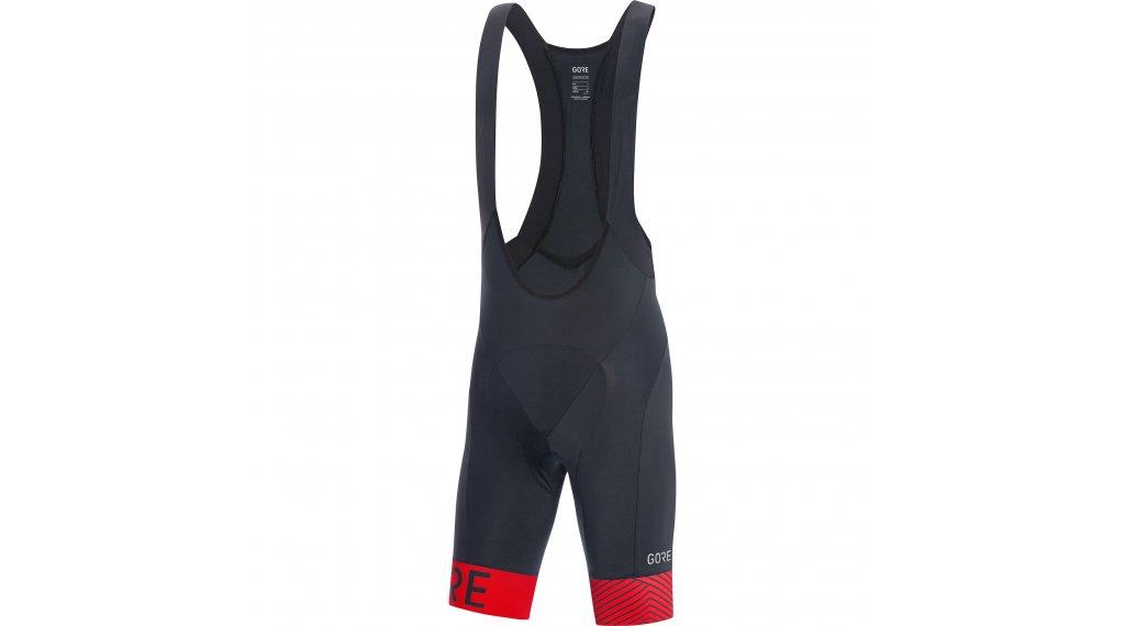 GORE C5 Optiline Bib Shorts 裤装 短 男士 (Advanced Road-臀部垫层) 型号 S black/red