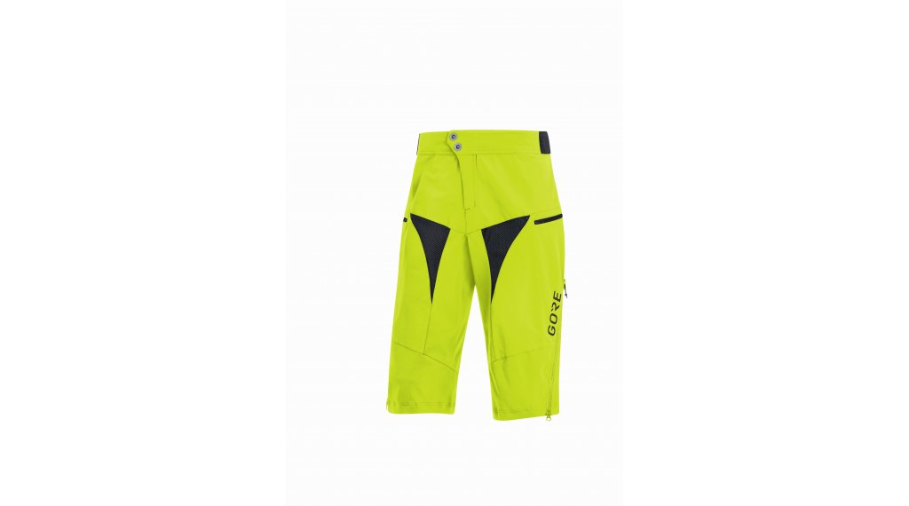 GORE C5 All Mountain Shorts 裤装 短 男士 型号 L citrus green