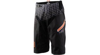 100% R-Core DH Bike Shorts Hose kurz Herren supra black / grey