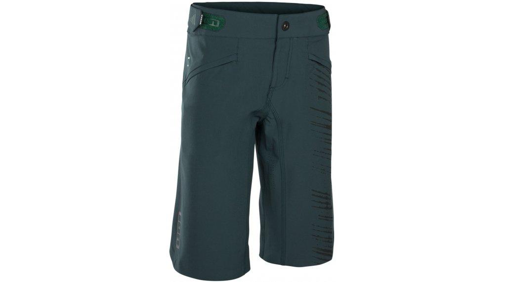 ION Scrub AMP WMS Bike-Shorts pantalón corto(-a) Señoras tamaño XS (34) verde seek