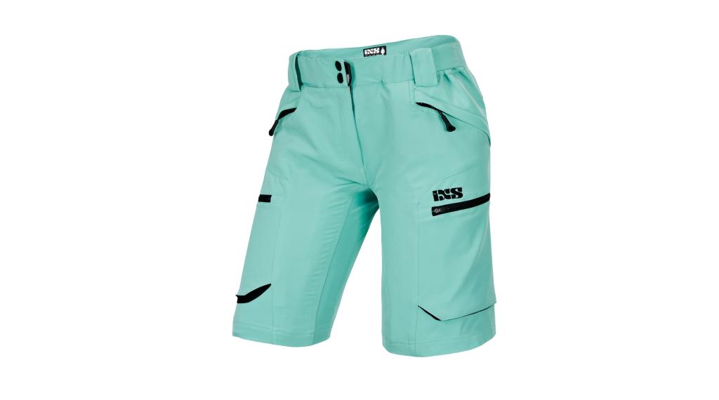 iXS Tema 6.1 Hose kurz Damen-Shorts Gr. 40 turquoise Mod. 2019