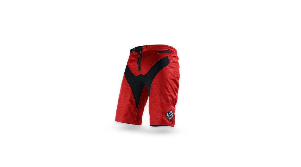 Loose Riders C/S Shorts Red pantalón corto(-a) tamaño 28 rojo/negro