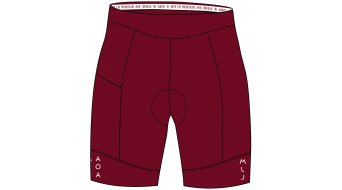 Maloja BarlaminaM. 1/2 Shorts Hose kurz Damen (Liberty-Sitzpolster) Gr. L red monk