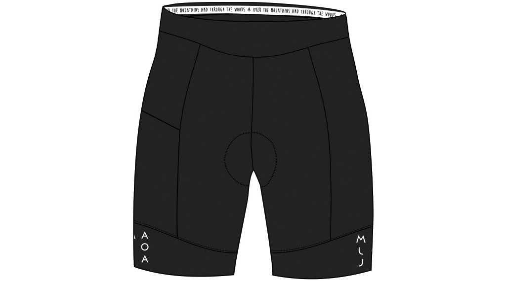Maloja BarlaminaM. 1/2 Shorts Hose kurz Damen (Liberty-Sitzpolster) Gr. M moonless