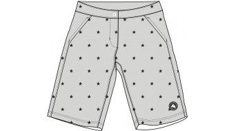 Maloja RunzalM. Multisport shorts pant short ladies size M haze stars- SAMPLE