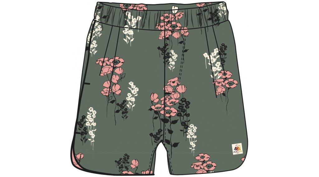 Maloja UrschaiaM. Shorts 裤装 短 女士 型号 M cypress poppy- MUSTERKOLLEKTION