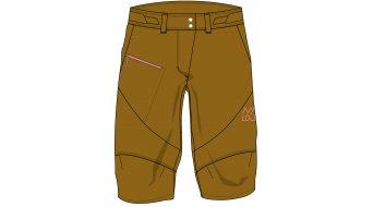 Maloja PizzalM. Superlight pantalon de pluie court femmes- pantalon shorts taille M sesame- Sample