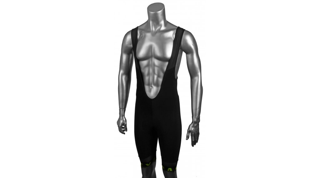 Oakley Thermal Bib Shorts Gr. S blackout/hi-vis yellow